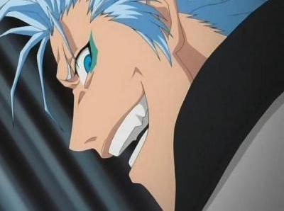 Grimmjow from Bleach.