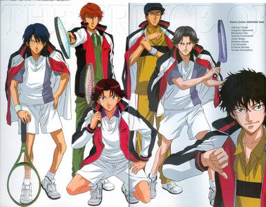 My current kertas dinding is Prince of Tennis,it's one of my faves....