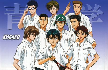 Seigaku from Prince of Tennis....