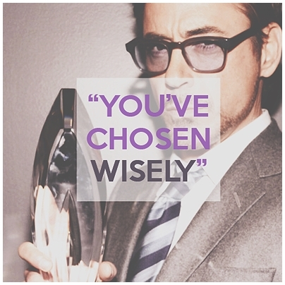 :) his quote when he won an award! ^^
