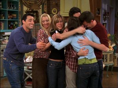 Những người bạn hugging. :)