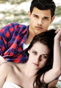 This my current phone Обои that I made of my beloved TDL and Kristen (Who is suppose to be me) :)