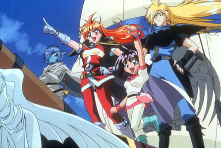 It's actually Ranma 1/2, but I feel like posting Slayers, which is a close contender.