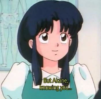 "Have to say right now Ranma 1/2 is my Favorit ""retro"" anime."