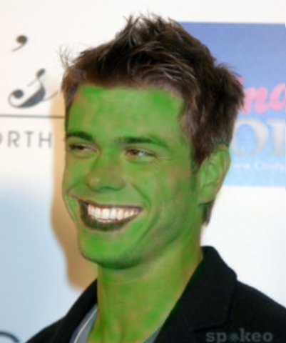 Matthew green as the Hulk but sexier and cuter!!! <3333