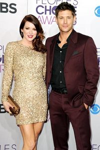 Jensen Ackles with his wife, Danneel Harris.