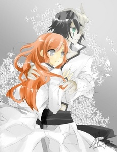 Ichigo and Rukia Ulquiorra and Orihime