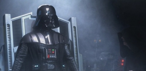 Hayden Christensen in SW:Episode lll Revenge of the Sith,as Darth Vader.You may not be able to see his face,but take my word for it,Hayden is inside the iconic Darth Vader costume in the picture below.In my opinion,I think Darth Vader is one of the best villains in movie history.