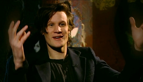 Matt Smith on an interview