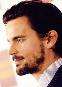 He looks great with facial hair :)