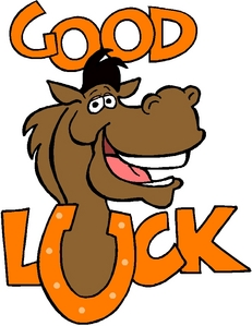 Good Luck :) I dont have a horse..