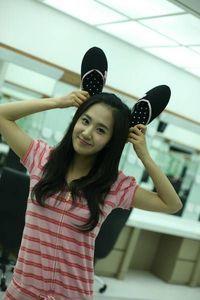 This is my inayopendelewa picha of my Bias Yuri !! she really looks cute in this pic ..
