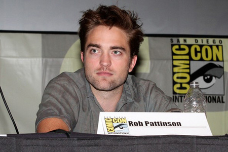 my baby sitting at a meja at the 2012 Comic-Con,in my hometown of San Diego.America's (and England's)Finest Man in America's Finest City.<3