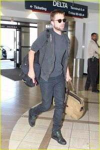 here's my baby with his passport in his hand(I think so anyway)<3