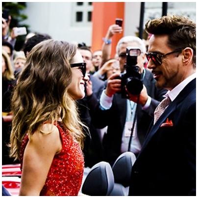 Robert with Susan wearing sun glasses :))