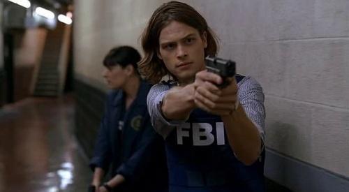 Matthew Grey Gubler as Dr. Spencer Reid in Criminal Minds