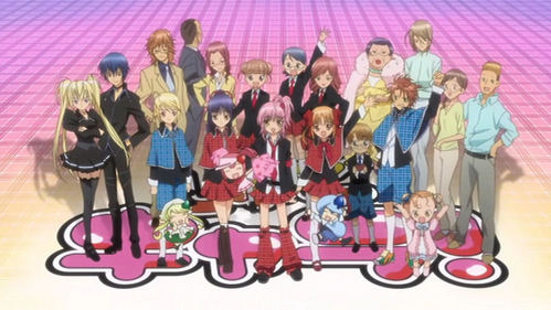 Yup I know bout all of them they're all ok but I love shugo chara and kirarin revolution the most