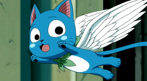 Happy :))) from fairy tail :D
