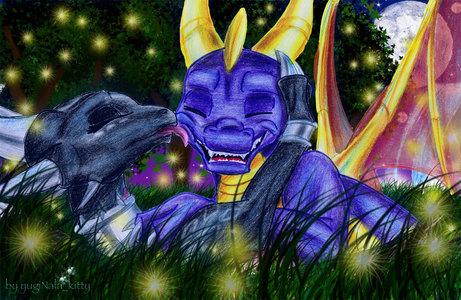 Spyro and Cynder! :D