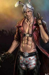 i have to any haers one of the them sexy dante sparda from devil may cry 4