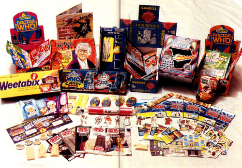 Doctor Who sweets and candy...