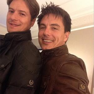 John Barrowman and Scott Gilll♥