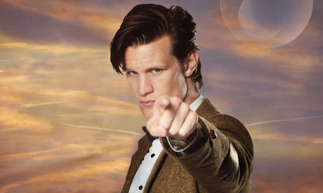 Matt Smith, I'd like that he should be say me, Come with me to TARDIS.