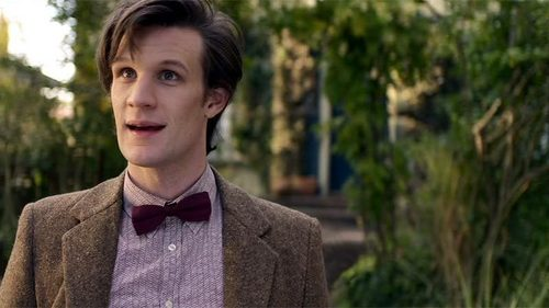 Matt Smith, he's got a lovely smile.