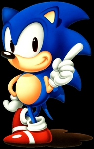 This is gonna sound weird, but honestly, I don't care. c: Sonic the Hedgehog.
