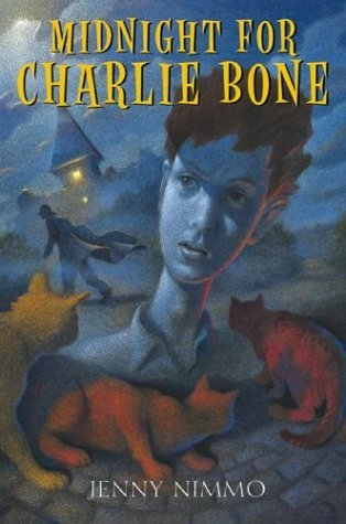 The Charlie Bone series~ I loved Membaca this series. ^.^ This is the summary for the first book: The fabulous powers of the Red King were passed down through his descendants, after turning up quite unexpectedly, in someone who had no idea where they came from. This is what happened to Charlie Bone, and to some of the children he met behind the grim, gray walls of Bloor's Academy.