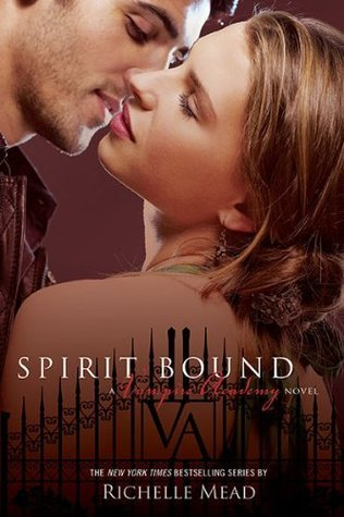 I actually like the whole Vampire Academy series but this one, Spirit Bound is my favorite. It's hard to talk about this without giving it away. Lets just say it's about this one character, Rose Hathaway, it's all from her point of view.