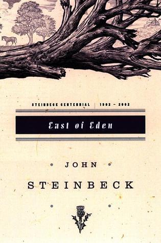 East of Eden. It's about many characters of interconnected families in California, but my kegemaran character is known as a monstrous human born without kindness who grows up using others for her benefit.