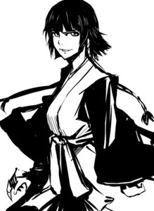 Captain Soi Fon is sort of like a flying ninja~ ...well, maybe not... Very ランダム 質問 though. -chuckles-