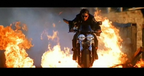 Tom Cruise in Mission Impossible:2