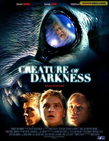 Matthew on the left on cover of Creature of Darkness poster. :)