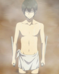 Kinda embarrassed to montrer this... BUT~ this is my fond d'écran of Hibari-sama~ >////<