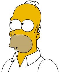 I think Homer is awsome because he is funny and just AWSOME