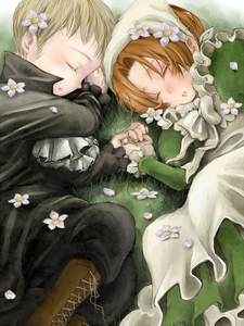 These Two~ :3 Chibitalia and Holy Rome