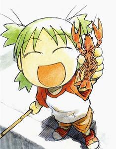 Yotsuba!!!! She's so kawaii!