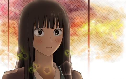 Sawako Kuronuma~!! <33 She's just the cutest whens she's blushing >/////<