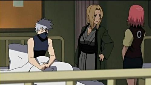 Kakashi Hatake in Hospital (Naruto Shippuden)