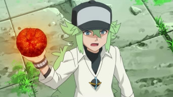 For me it would have to be N from Pokemon. I am not going to tell all of the others I like because the 一覧 would be pretty long, but if any one wants a 一覧 then let me know. This picture is one that I just found today of N. It is a picture of N from an アニメ episode. Yeah for N and Nintendo!!!!