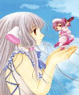 How about Chi from Chobits? She's a really nice character. (even though I'd rather pick Sumomo.)