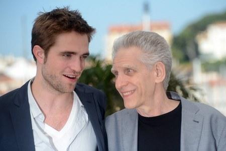 my hot,hot,hot Robert with his Cosmopolis director,David Cronenberg<3