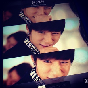 this was his best picture for me. kyaaaa~ the smile *faint*