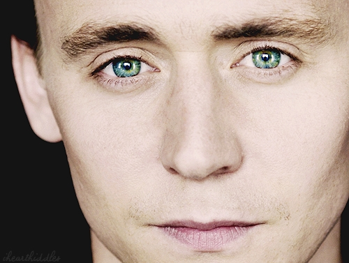 I could get lost in Hiddle's eyes!