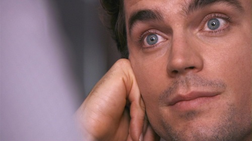 My breath has been stolen from me por this breathtakingly handsome man. Those eyes should be illegal. Matt Bomer :)