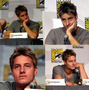 my hottie at the Comic Con 2010 - apparently he had a lot of thinking to do there :D (I simply couldn't choose one) <3333