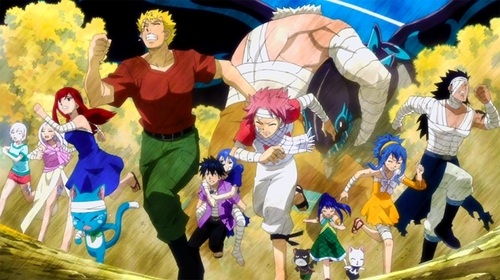 Anime Characters Running : Post a character running for their f life anime