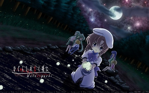 Higurashi No Naku Koro Ni (picture)- The story centers around a city boy who moves to a country village with his family under certain circumstances. There, he meets four girls that become his Friends but also becomes aware of the dark secrets within the peaceful village of Hinamizawa. Le Portrait de Petite Cossette- This OVA series of 3 episodes centers around a college art student who begins to encounter visions of a girl from 18th century France whose murderer was reincarnated as him. Ghost Hunt- Ghost Hunt is about a group of people who investigate the paranormal and how doing so effects others lives as well as their own, Puella Magi Madoka Magica- Madoka Magica is a deconstruction of the typical magical girl genre as it centers around the main character, Madoka, and the reasons why she, as well as others, became magical girls. Deadman Wonderland- DW is actually quite similar to Elfen Lied, as it is a biopunk series, and basically tells the story of a wrongfully accused murderer, Ganta Igarashi, and his survival in the prison-theme park, Deadman Wonderland. Paranoia Agent- Paranoia Agent is about a group of people who, feeling depressed with their lives, is hit over the head par the golden baseball bat of Little Slugger/Shōnen Bat. Trying to find out the reasons for this, a group of investigators begin to unravel the true meeting of this iconic figure. Monster- Monster is about a Neural Surgeon who unintentionally saved the life of the suivant inline Hitler figure, Johann Liebert. This series calculates the actions of both characters in this twisted version of cat and mouse.